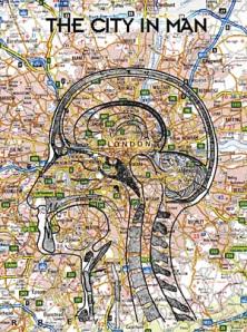Cities shaped like brains.